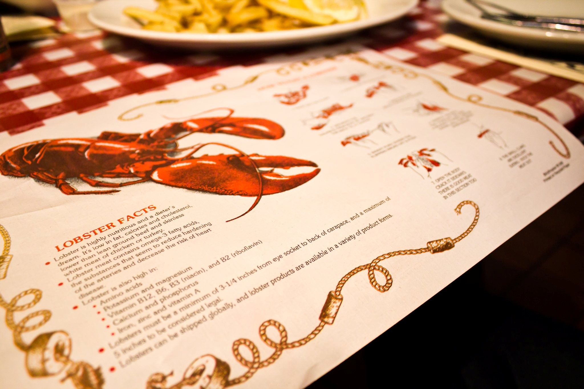 Old Port Lobster Shack Placemat
