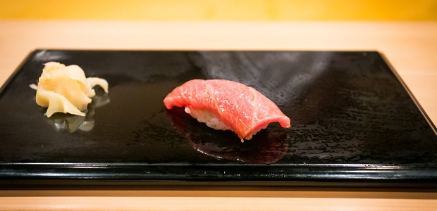 Dreaming of sukiyabashi jiro city foodsters for Seashell fish chicken chicago il